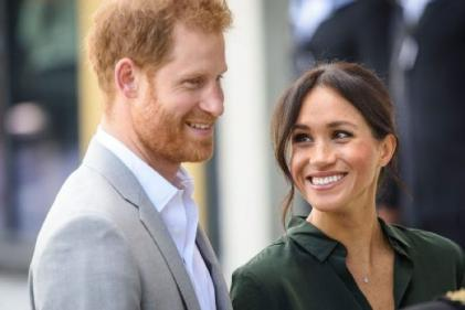 Our little bundle of joy: Harry and Meghan introduce their baby boy to the world