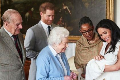 Harry and Meghan finally reveal their baby boys name
