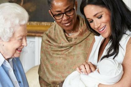 The Duchess of Sussex shares new photo of Archie to mark Mothers Day