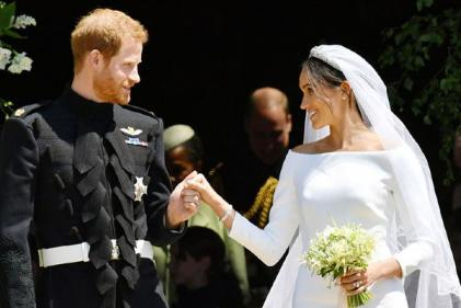 Harry and Meghans Anniversary: How the Sussexs honoured Diana at their wedding