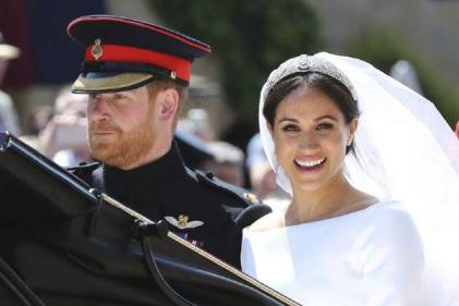 The Duke and Duchess of Sussex share never-before-seen wedding photos