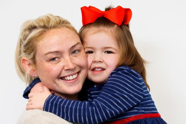 Brave 4-year-old Ruby has her wish granted after battling a brain tumour