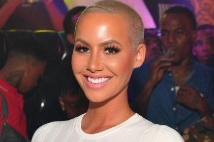Its a boy! Amber Rose has named her son after a legendary rockstar