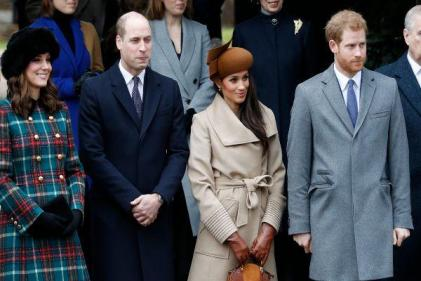 Harry and Meghan have officially left the Royal Foundation