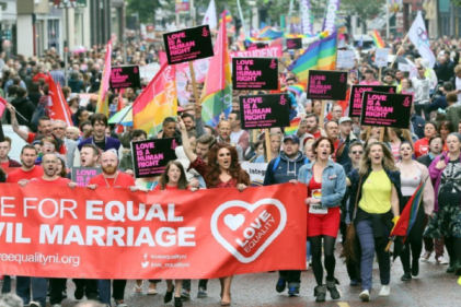 MPs vote to extend abortion rights and same-sex marriage to Northern Ireland