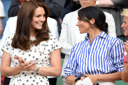 Kate and Meghan are attending the Wimbledon Ladies Final together