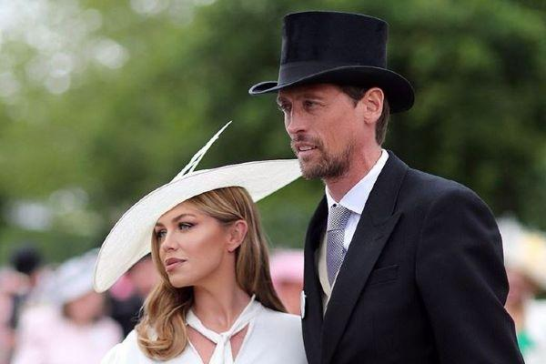 Abbey Clancy and Peter Crouch reveal their baby boys traditional name