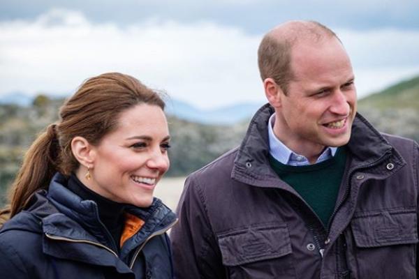 Duke and Duchess of Cambridge send personal message to Boris Johnson