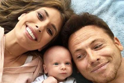 Road Trip: Stacey Solomon goes on first family holiday with baby Rex