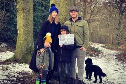 Charley Webb and Matthew Wolfenden have welcomed their third child