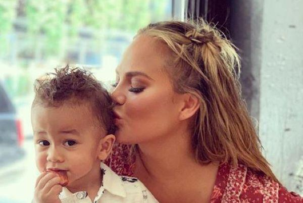 Chrissy Teigen is being mum-shamed over her latest video of son Miles