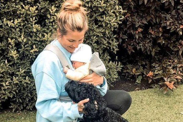 Shes not even 8 weeks old: Gemma Atkinson hits back at mum-shamers