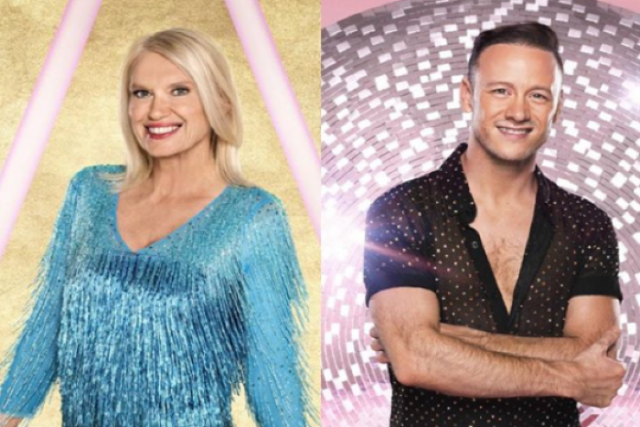 Strictlys Kevin Clifton apparently views Anneka Rice pairing as a punishment