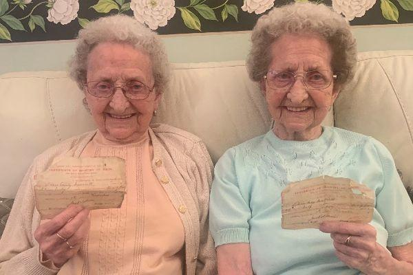 Lil and Doris: 95-year-old twins reveal the secret to living a long life
