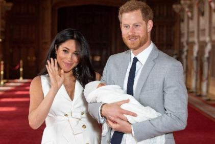 A fresh start: Harry, Meghan and Archie move into new family home