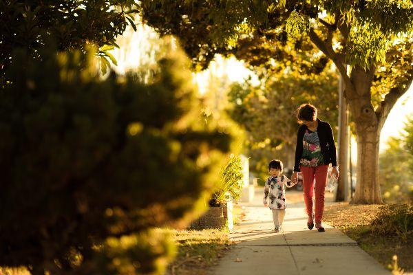 Are parents too lazy to walk to school with the kids?
