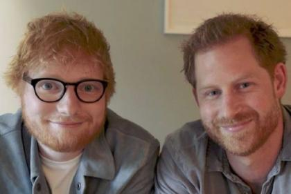 Watch: Prince Harry and Ed Sheeran team up for World Mental Health Day