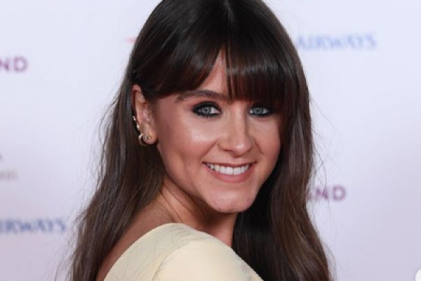 An exciting time: Corries Brooke Vincent is days away from her due date
