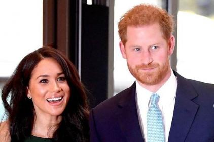 Prince Harry fights back the tears as he opens up about Meghans pregnancy