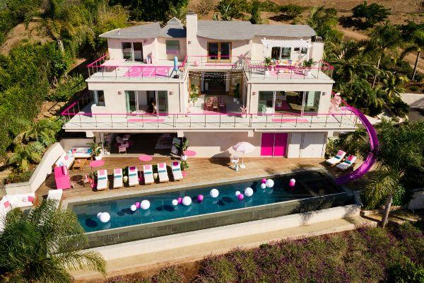 Barbie opens the doors to her iconic Malibu Dreamhouse on Airbnb