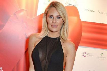 Danielle Armstrong welcomes a daughter and reveals dainty name
