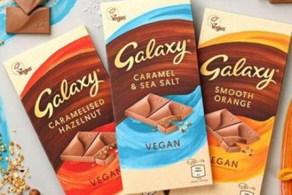 Galaxy to launch vegan chocolate bars in three tasty flavours