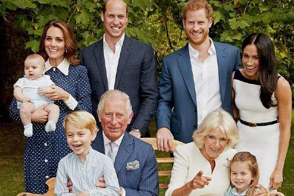 Harry and Meghan share new photo of Archie for Prince Charless birthday