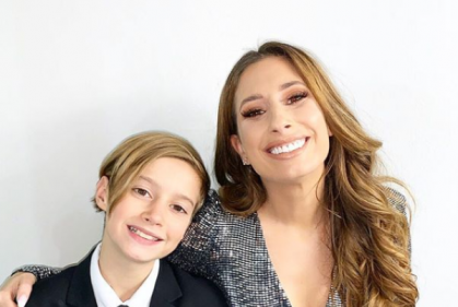 Stacey Solomons heartfelt tribute to her eldest son will bring a tear to your eye