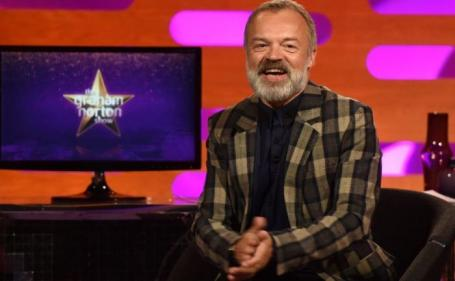 Stellar line-up announced for tonights Graham Norton Show