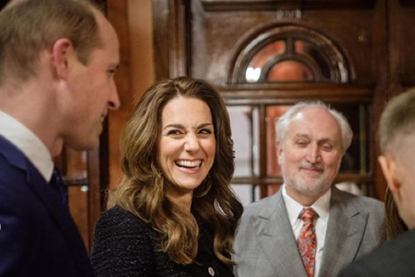 The Duchess of Cambridge stuns in tweed midi dress for West End visit