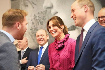 Kate stuns in vintage Oscar de la Renta dress in Dublin