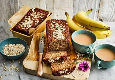 Get baking! The ultimate Oaty Banana Bread recipe