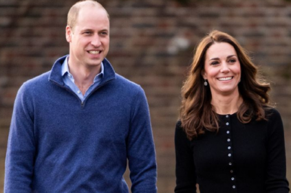 The Duke and Duchess of Cambridge join healthcare heroes for NHS celebration