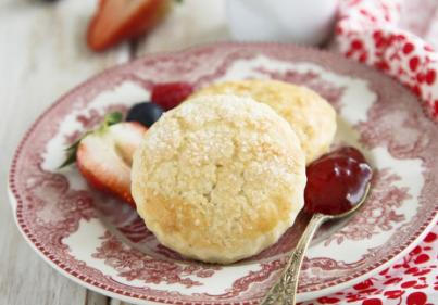 Recipe: Treat yourself  to these sugar topped buttermilk scones for breakfast