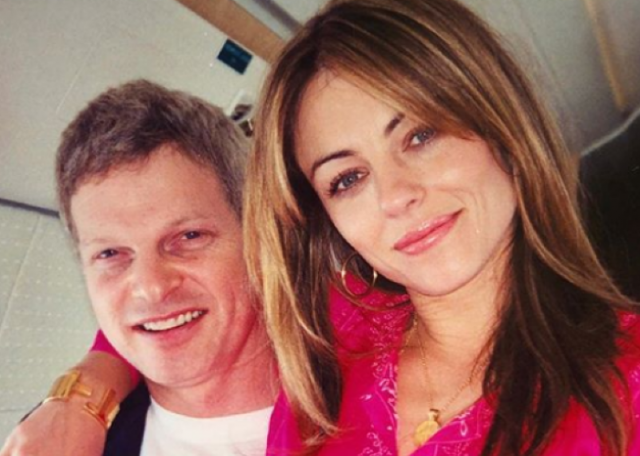 A terrible end: Elizabeth Hurley pays tribute to ex Steve Bing