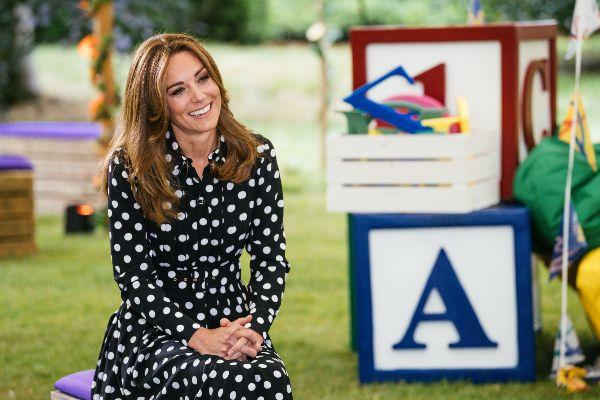 The Duchess of Cambridge teams up with BBC to launch Tiny Happy People
