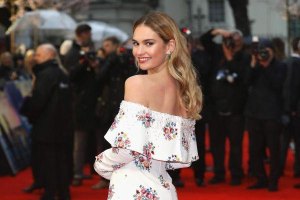 Lily James to star in new drama series & Downton Abbey fans will adore it