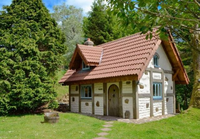 Live like a princess and stay in this magical Snow White cottage