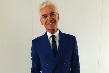 Phillip Schofield is turning his family's garage into a little bachelor pad