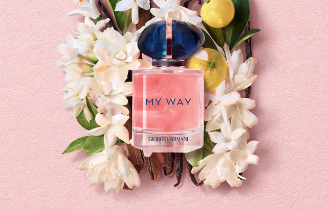 You need 'My Way' the new fragrance by Giorgio Armani in your life