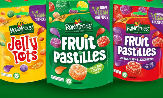 Rowntree's Fruit Pastilles to become vegan friendly