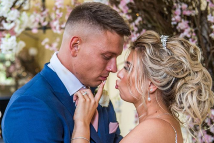 Love Island couple, Alex and Olivia Bowen share breathtaking wedding pictures