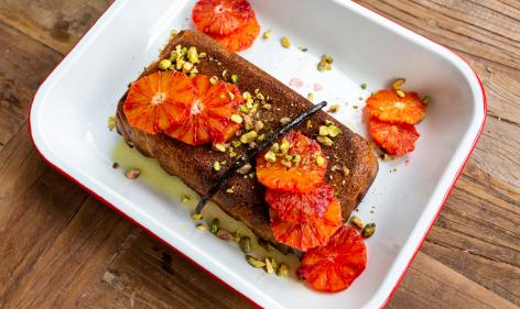 Recipe: Orange & Almond Syrup Cake