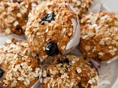 Recipe: These delicious Bluberry Oat Muffins are perfect for breakfast