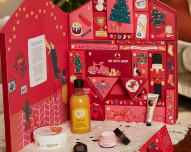 Countdown to Christmas with The Body Shop advent calendars