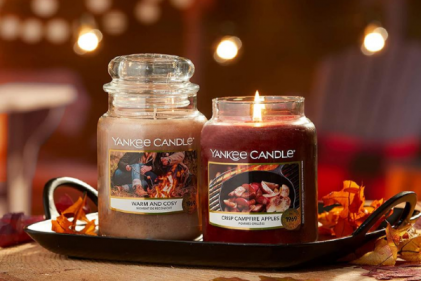 You'll love this new autumn candle range all about campfire scents