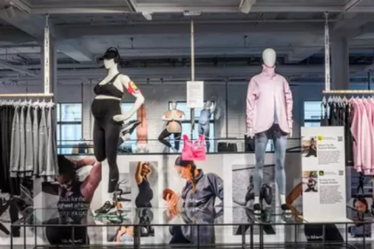 Nike showcase their very first maternity line on new pregnant mannequins