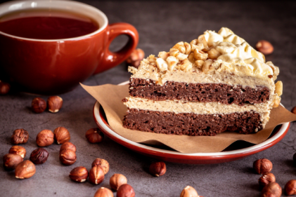 Recipe: Coffee & Hazelnut Cake for International Coffee Day