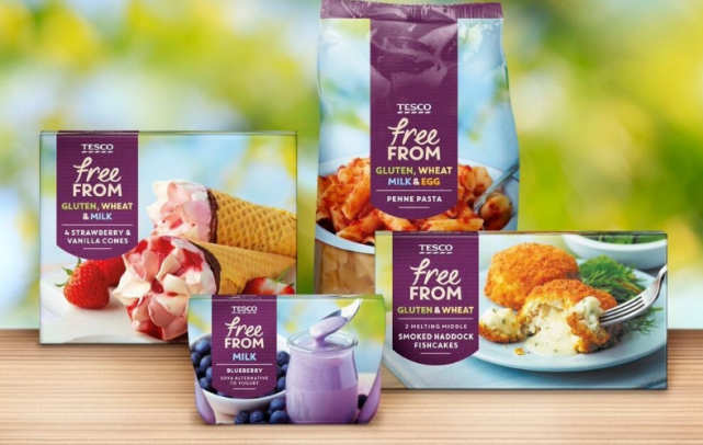 Tesco scoops 36 awards at Free From Food Awards and prestigious 'Range of the Year'