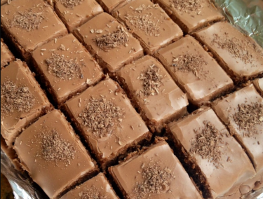 Recipe: Easy chocolate tray bake - the perfect recipe for half term break.